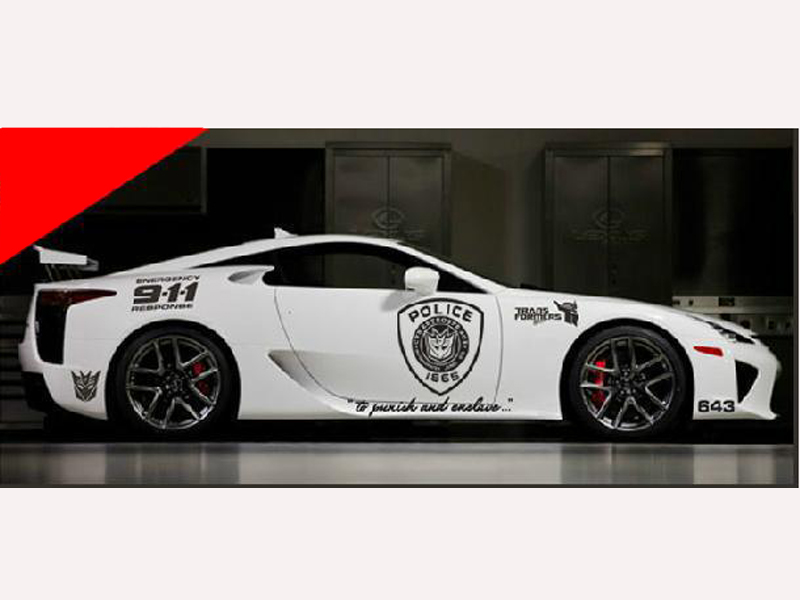 HOT-selling-Personalized-modification-car-styling-super-cool-police-911-car-sticker-car-decal-free-shipping