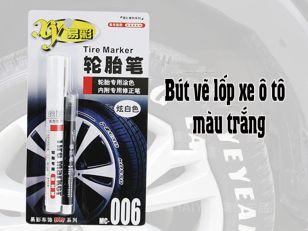 Bút vẽ lốp xe ô tô - màu trắng