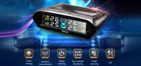 Bộ cảm biến áp suất lốp TP 800 ( van ngoài )