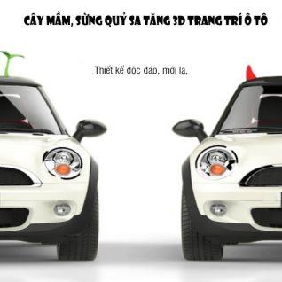 Cây mầm trang trí xe ô tô