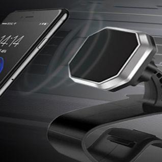 Giá đỡ điện thoại ô tô cài taplo HUD xoay 360 độ
