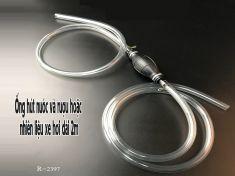 Ống hút nước và rượu hoặc nhiên liệu xe hơi dài 2m