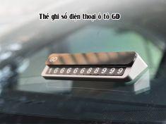 Thẻ ghi số điện thoại ô tô GD