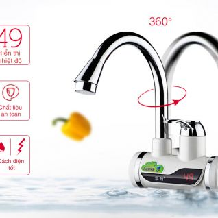 Vòi nước hiển thị nhiệt độ OEM KJ-841
