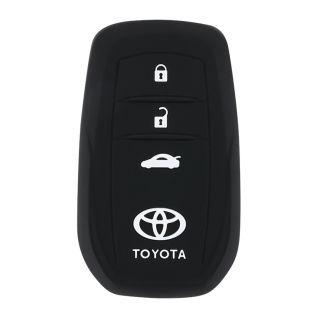 Ốp vỏ chìa khóa silicone xe Toyota (Mã 4)