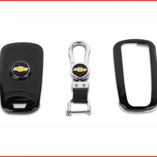Ốp vỏ chìa khóa xe Chevrolet (Đen)