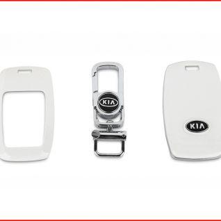 Ốp vỏ chìa khóa xe Kia (Trắng)