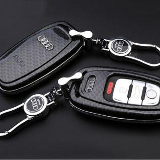 Ốp vỏ chìa khóa carbon - Audi