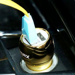 Combo sạc + cáp sạc điện thoại mạ vàng REMAX