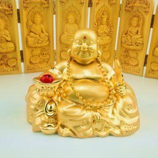 Tượng Phật Di Lặc trang trí ô tô