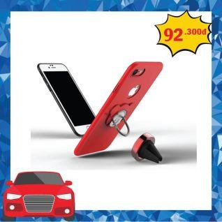 Ốp lưng Iphone 7 DIAMOND NE Solid color kiêm giá đỡ điện thoại thông minh OZ5369