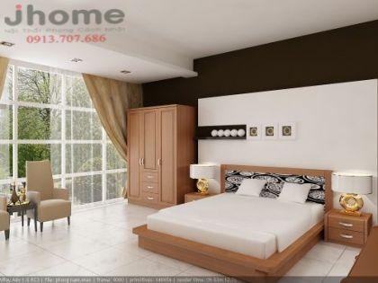 Giường ngủ 76 - Nội thất Jhome