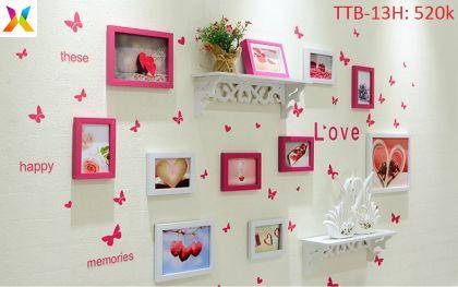 Bộ khung tranh treo tường TTB-13H