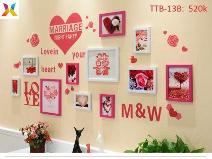 Bộ khung tranh treo tường TTB-13B