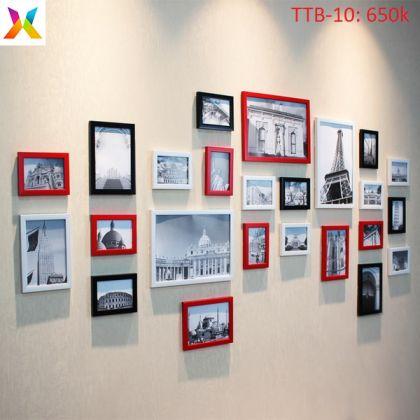 Bộ khung tranh trang trí TTB-10