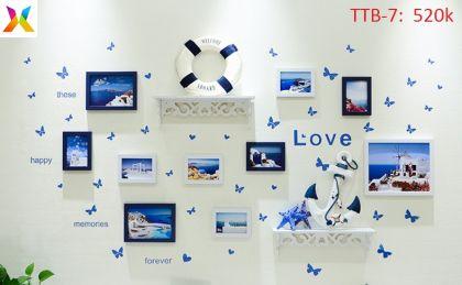 Bộ khung tranh trang trí TTB-7