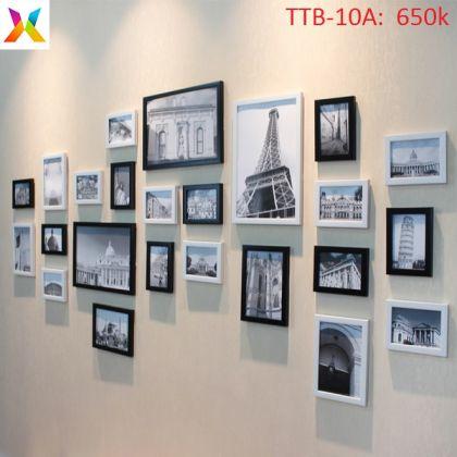 Bộ khung tranh trang trí TTB-10A