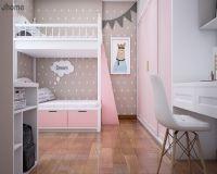 Thiết kế nội thất phòng ngủ bé gái chung cư Imperia Garden - Nội thất Jhome