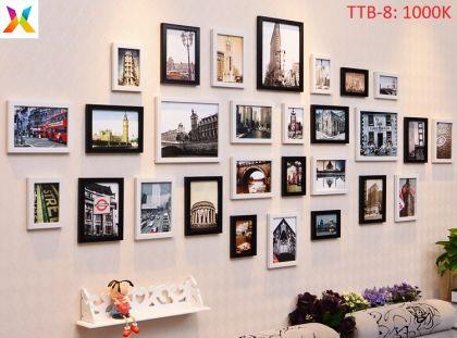 Bộ khung tranh treo tường TTB-8