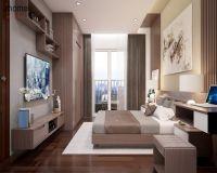 Thiết kế nội thất phòng ngủ chung cư Hồ Gươm Plaza - Nội thất Jhome