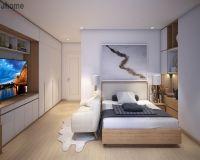 Thiết kế nội thất phòng ngủ chung cư Mipec Long Biên - Nội thất Jhome