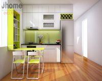 Thiết kế nội thất phòng bếp chung cư Coma 6 - Nội thất Jhome