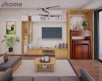 Thiết kế nội thất chung cư VP2 Linh Đàm - Nội thất Jhome