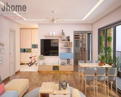 Thiết kế nội thất chung cư Imperia Garden - Nội thất Jhome