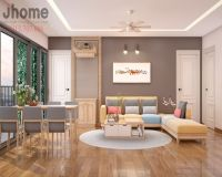 Thiết kế nội thất phòng khách chung cư Imperia Garden - Nội thất Jhome