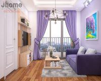 Thiết kế nội thất phòng khách chung cư Home City - Nội thất jhome
