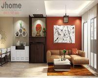 Thiết kế nội thất phòng khách chung cư Golden West - Nội thất Jhome