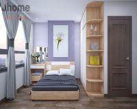 Thiết kế nội thất phòng ngủ master chung cư Helios Tower - Nội thất Jhome