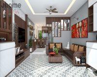 Thiết kế nội thất nhà phố Bồ Đề - Nội thất Jhome