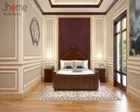 Thiết kế nội thất phòng ngủ biệt thự ở Hải Phòng - Nội thất Jhome