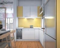 Thiết kế nội thất phòng bếp chung cư Times City - Nội thất Jhome