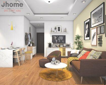 Thiết kế nội thất chung cư Times City - Nội thất Jhome