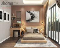 Thiết kế nội thất phòng ngủ biệt thự Ecopark - Nội thất Jhome