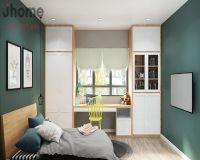 Thiết kế nội thất phòng ngủ con gái biệt thự Ecopark - Nội thất Jhome