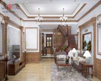 Thiết kế nội thất biệt thự tân cổ điển ở Hải Phòng - Nội thất Jhome