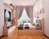 Thiết kế nội thất phòng ngủ nhà phố Lâm Du - Nội thất Jhome