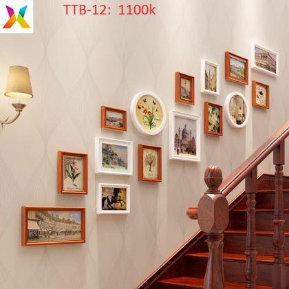 Bộ khung tranh treo tường TTB-12