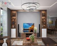 Thiết kế nội thất phòng khách chung cư tòa L3 Ciputra - Nội thất Jhome