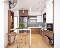 Thiết kế nội thất phòng bếp chung cư Park Hill nhà chị Giang - Nội thất Jhome