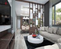 Thiết kế nội thất biệt thự Ecopark chị Minh - Nội thất Jhome