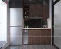 Thiết kế, thi công nội thất phòng bếp chung cư Ecolife Capitol - Nội thất Jhome