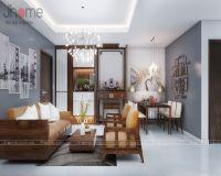 Thiết kế, thi công nội thất chung cư tòa nhà hỗn hợp Hoàng Quốc Việt - Nội thất Jhome