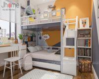 Thiết kế, thi công nội thất phòng ngủ con chung cư tòa nhà hỗn hợp Hoàng Quốc Việt