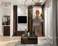 Thiết kế & thi công nội thất phòng khách chung cư Park 6 Park Hill Times City