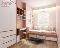 Thiết kế, thi công nội thất phòng ngủ trẻ em chung cư Mipec Long Biên - Nội thất Jhome