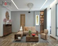 Thiết kế, thi công nội thất phòng khách chung cư L3 Ciputra - Nội thất Jhome